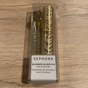 Brand New Sephora Glimmer in her Eye Brush Set